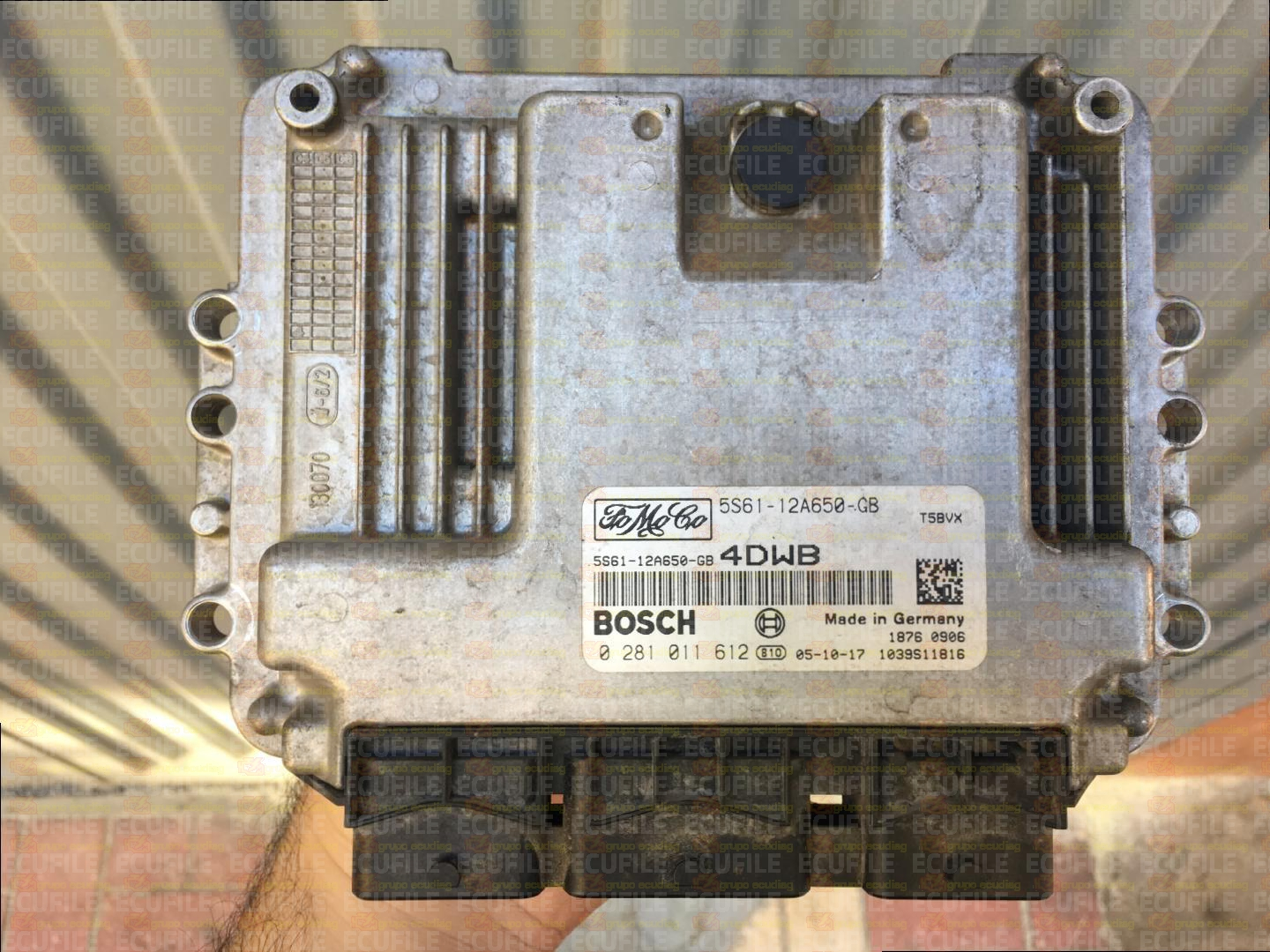 CALCULATEUR FORD FIESTA BOSCH EDC17C10 1.4 TDCI 0281018993 BV21-12A650-ACC